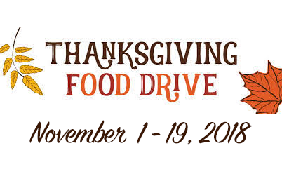 UVBH Thanksgiving Food Drive